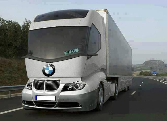 New BMW Truck - Cool